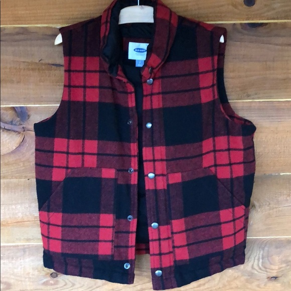 Old Navy Other - Old Navy Buffalo Plaid Vest